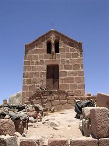 Chapel atop Mt. Sinai