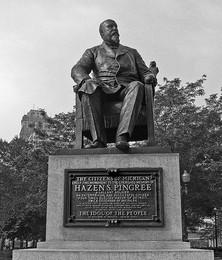 Hazen Pingree statue in Detroit. Photo by Dave Hogg via Flickr (cc)