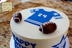 Football Cake by Sweet Pea 0613 via flickr(cc)